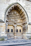 Medieval cathedral in Reims Royalty Free Stock Photos