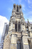 Medieval cathedral in Reims Royalty Free Stock Photo