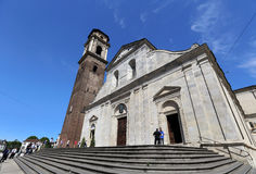 Medieval cathedral of Turin Stock Photo
