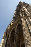 Medieval Cathedral of Ulm, in Southern Germany. Ulm Munster, the tallest church in the world royalty free stock photo