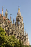 Medieval Cathedral of Ulm, in Southern Germany Royalty Free Stock Photos