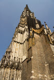 Medieval Cathedral of Ulm, in Southern Germany. Ulm Munster, the tallest church in the world stock photos