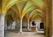Medieval cauldron Royalty Free Stock Photo