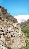 Medieval cave city-monastery Vardzia,Georgia Royalty Free Stock Image