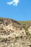 Medieval cave city monastery Vardzia,Georgia Royalty Free Stock Photo