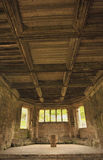Medieval ceiling, Haughmond Abbey, Stock Photo