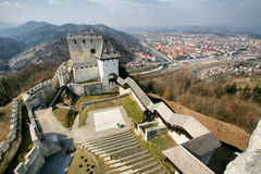 Medieval Celje Castle Royalty Free Stock Photography