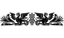 Medieval Celtic pattern Royalty Free Stock Photo