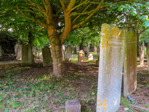 Medieval cemetery on the Jersey Island Stock Photo