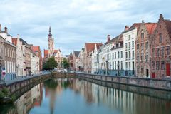 Medieval centre of Bruges Stock Photo
