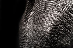 Medieval chainmail armor Stock Image