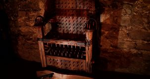 Medieval chair for torture