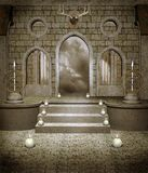 Medieval chamber 1 Stock Photos