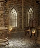 Medieval chamber 2 Stock Image