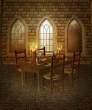 Medieval chamber 3 Stock Image