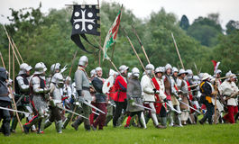 Medieval Charge Royalty Free Stock Photography