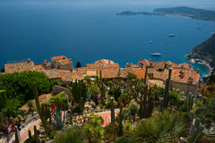 Medieval Chateau at Eze Village Royalty Free Stock Image