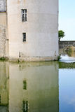 Medieval chateau Sully-sur-loire Royalty Free Stock Photography