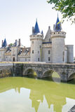 Medieval chateau Sully-sur-loire, France Stock Image