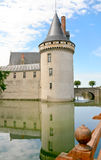 Medieval chateau Sully-sur-loire, France Stock Photos