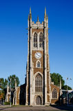 Medieval chruch. Medieval historic chruch in England Stock Image
