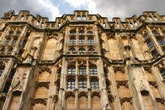 Medieval Church 01. Spectacular Medieval/Roman Church in Cirencester, The Cotswolds, UK stock photo