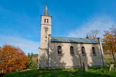 Medieval Church Royalty Free Stock Photos