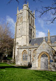 Medieval Church. Imposing Medieval English Village Church Stock Photos