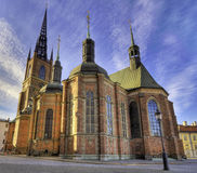 Medieval church. Royalty Free Stock Image