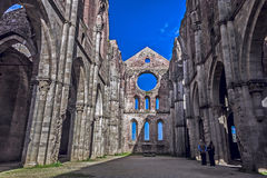 A medieval church Royalty Free Stock Photography