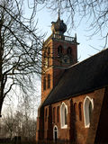 Medieval church. In Noordwolde (Holland Royalty Free Stock Image