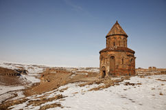 Medieval Church in Ani, Kars, Turkey Royalty Free Stock Image