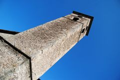 Medieval church bell tower Royalty Free Stock Images