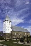 Medieval church in Bryndom, Esbjerg, Denmark Stock Photos