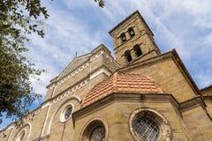 Medieval church in Cortona, Tuscany, Italy Royalty Free Stock Image
