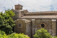Medieval church in Cortona, Tuscany, Italy Stock Photo