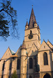 Medieval church during daytime Royalty Free Stock Image