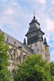 Medieval church De La Chapelle Royalty Free Stock Image