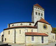 Medieval church in the French village, Bearn Royalty Free Stock Photo