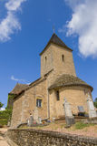 Small village church in France Stock Image
