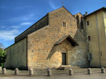 Medieval church in Italy  Stock Images