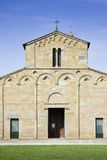 Medieval church (Italy - Tuscany) Stock Image