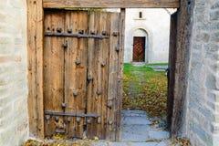 Medieval church Stock Photo