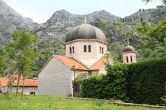 Medieval church in Kotor Stock Images