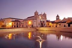 Medieval church in Lagos Portugal Stock Photos