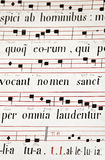 Medieval Church Music Royalty Free Stock Photo