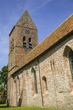 Medieval church in Netherlands. The medieval Pancratius church in the small village of Godlinze in Groningen Royalty Free Stock Image
