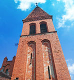 Medieval Church in Piaski - Grudziadz Royalty Free Stock Photos