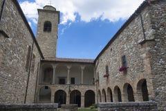 San Giovanni Battista church at Carpegna Marches, Italy Royalty Free Stock Images