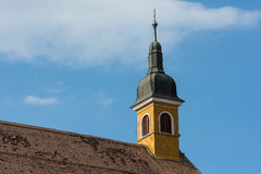 Medieval Church Rooftop Royalty Free Stock Images